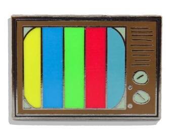 90's TV Hard Enamel Pin