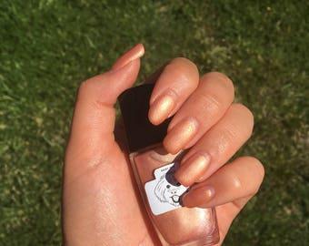 Custom Nail Polish Rose Gold - Lux