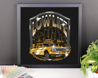 Lowrider Framed Poster