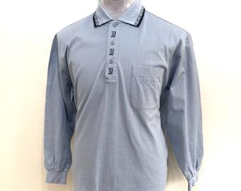 Vintage KENZO GOLF polo shirts / Kenzo Paris / Kenzo lomg sleeve size L / Kenzo Men