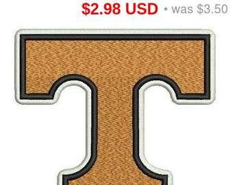 Sale 15% Tennessee Volunteers logo embroidery design / embroidery designs / INSTANT download machine embroidery pattern