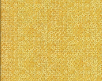 Coupon patch fabric flowers in yellow gold