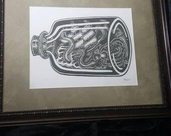 Original art print by artist.