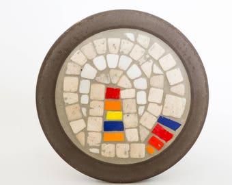Mosaic wall plate