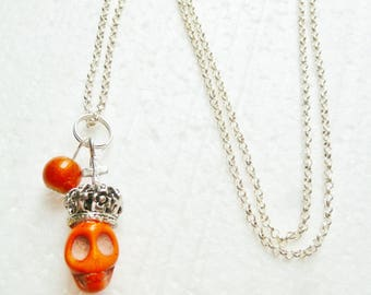 Her Magesty Royal orange necklace