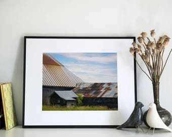 Delta Barn, Photographic Print, 11x14