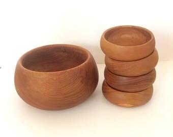 vintage teak wood salad set teak salad bowls wooden serving bowls danish modern