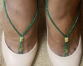 LuvlyCharms handmade beaded foot jewelry