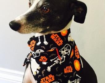 Star Wars Halloween Dog Bandana