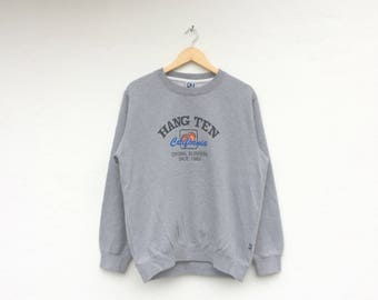 Hang Ten Big Logo Vintage Crewneck