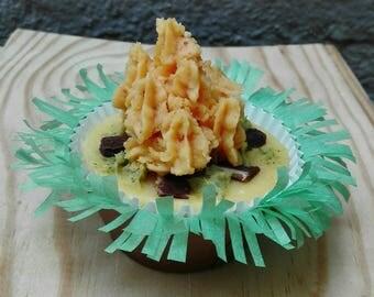 SOAP Cupcake Campfire antioxidant / Bonfire detox cupcake soap