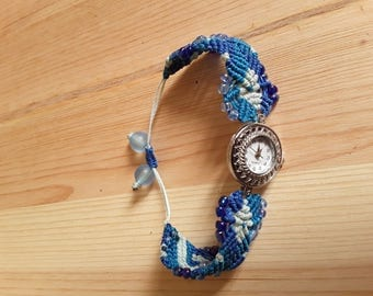 three different Blue Ladies watch