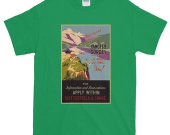 Beauty and Grandeur in the Yangtsze Gorges  T-Shirt