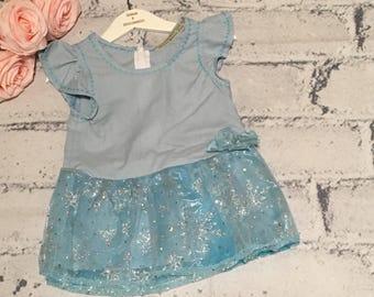 Girls Dress, Girls Frozen Dress, Elsa Dress, Princess Dress, Handmade Dress, Birthday Dress, Party Dress, Toddler Dress, Bespoke Range