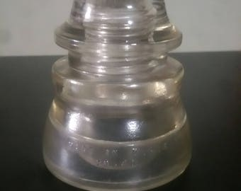 White Hemingray  Insulator