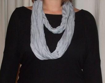 Very original textile necklace / jewelry XXL trendy