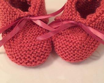 Handmade baby boots