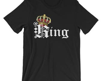 King & Queen Couple Tshirt