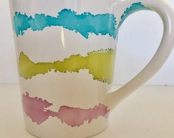 Minimalist Coffee Mug - Pastel Coffee Mug ~ Coffee Lover ~ Coffee Gift~ Minimalist gift