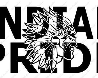 Indian Pride .svg .eps .png .dxf