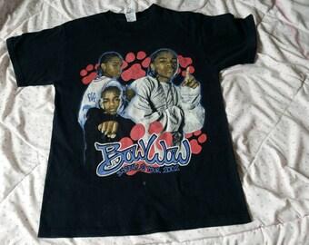 RARE Vintage Bow Wow Double Sided Tour Rap Hip Hop Shirt