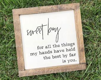 Sweet Boy svg | Baby Boy svg | Toddler Boy svg | New Baby svg | Newborn svg | Nursery svg | Farmhouse svg | SVG | DXF | JPG | cut file