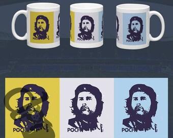 Mauricio Pochettino - Tottenham Football Revolution - 11oz standard size mug - brilliant for a Spurs Fan. COYS