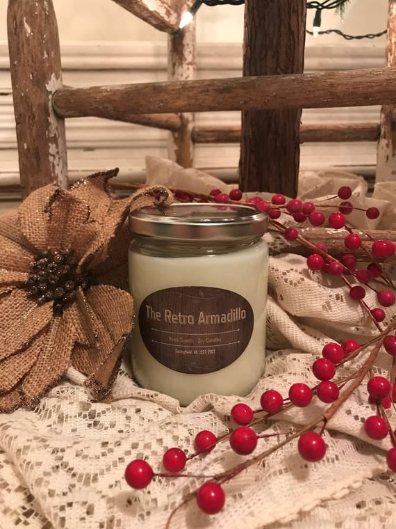 Mulled Cider & Chestnuts Soy Candle - $10.00 USD