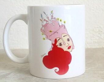 Cake head mug