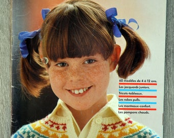 Magazine knitted kids Penguin 37-60 models (Vintage)