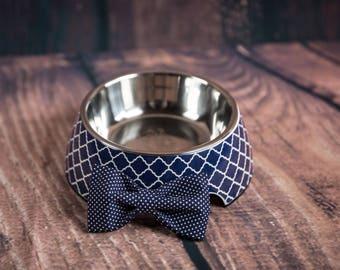 Moroccan Valour Royal Blue Dog Bowl