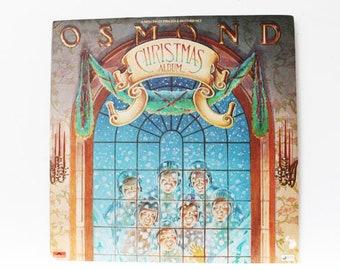 The Osmond's, Osmond Christmas Album, 1976, 2 record set, Gatefold album, Vintage LP, Vinyl, Record, Album