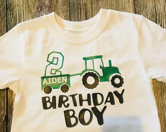 Boys Birthday shirt,boys birthday, boys 2nd birthday shirt