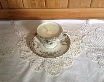Noritake soya tea cup candle