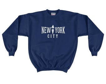 Signature NYC Men's Crewneck Sweatshirt