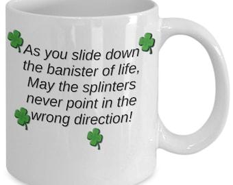 Shamrocks&Shenangns for all, St Patricks Day mug, St Patrick's Day gifts, Irish Saint Pattys Day cup, St Patricks mug, Irish funny gift mug