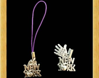 Hand Made Charms - New York