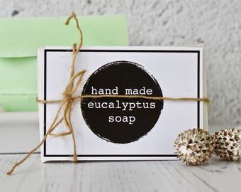Hand Made Eucalyptus Soap