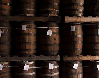 Wine barrels photo, Oak Barrels photography, Whiskey barrels, Bar Decor, Rustic, Wall art, photography, Dominican Republic, Instant download