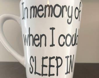 In memory of..coffee mug