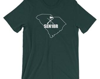 South Carolina Color Guard 2018 Shirt, Graduating Senior 2018 Color Guard, South Carolina State ColorGuard Shirt, SEN18R Color Guard Gift