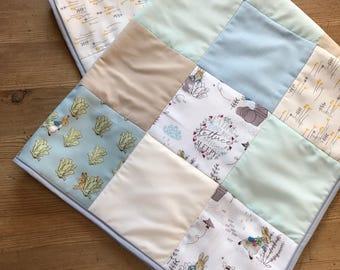 Beautiful Peter Rabbit baby quilt