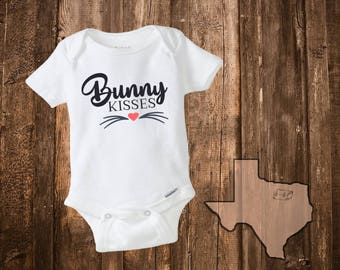 Custom onesie baby gifts baby shower baby girl clothes easter outfit easter onesie easter bunny easter gifts easter kids clothing negle Gallery