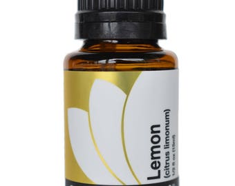 Organic Lemon Essential Oil 5ml, 15ml, or Buy Both & Save!