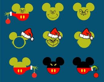 Mickey Mouse.Svg.Dfx.Eps.Pdf.Png.JPG.