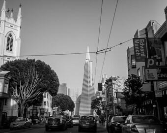 Photographie TransAmerica - San Francisco