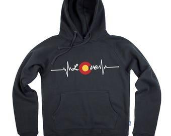 Colorado Love Life Line - Hoodie