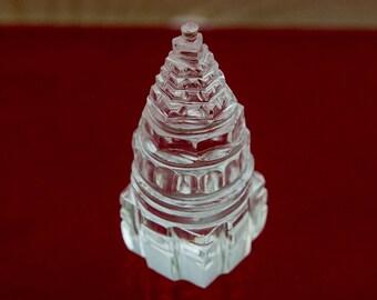 Quartz Meru Chakra ~ Vastu / Feng Shui Crystal Yantra Geometry For Balance