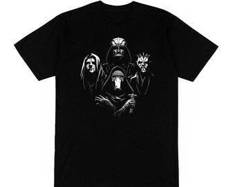 T-shirt queen starwars rhapsody parody Darth Vader sith maul fun