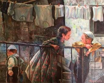 Jerusalem Kids by Olga Magazanik